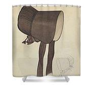 Quaker Bonnet Shower Curtain