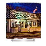 Quaker Steak And Lube Shower Curtain