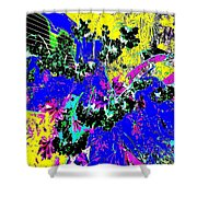 Quantiza 1 Shower Curtain by Eikoni Images