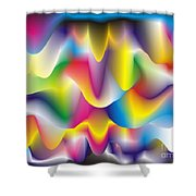 Quantum Landscape 1 Shower Curtain