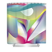 Quantum Landscape 5 Shower Curtain