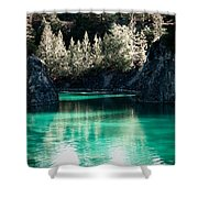 Quarry Waters Shower Curtain