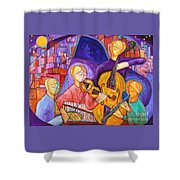 Quartet For The End Of Time Shower Curtain