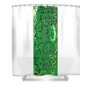 Quatrain Whole Shower Curtain