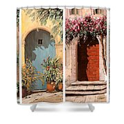 Quattro Porte Shower Curtain
