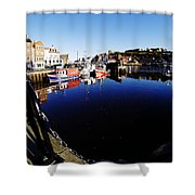 Quay Side 1 Shower Curtain