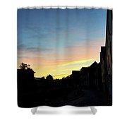 Quayside Sunrise 4 Shower Curtain