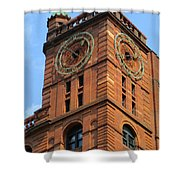 Quebec Bank Building Shower Curtain
