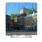 Quebec City 46 Shower Curtain