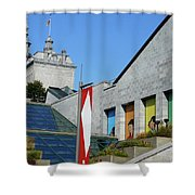 Quebec City 53 Shower Curtain