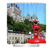 Quebec City 57 Shower Curtain