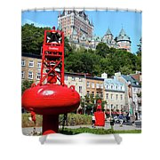 Quebec City 58 Shower Curtain