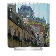 Quebec City 62 Shower Curtain