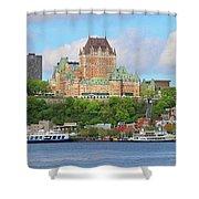 Quebec City  6326 B  Shower Curtain
