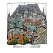 Quebec City 65 Shower Curtain