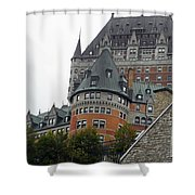 Quebec City 66 Shower Curtain