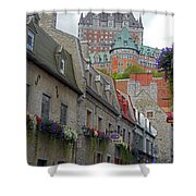 Quebec City 67 Shower Curtain