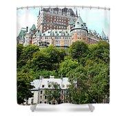 Quebec City 68 Shower Curtain