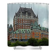 Quebec City 70 Shower Curtain