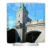 Quebec City 72 Shower Curtain