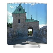 Quebec City 73 Shower Curtain
