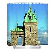 Quebec City 74 Shower Curtain