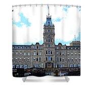 Quebec City 78 Shower Curtain