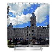 Quebec City 79 Shower Curtain
