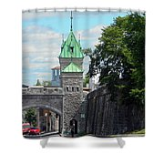 Quebec City 82 Shower Curtain