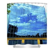 Quebec City 83 Shower Curtain
