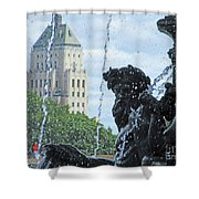 Quebec City Detail 40 Shower Curtain