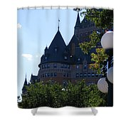 Quebec City Shower Curtain