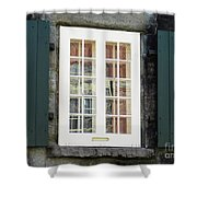 Quebec City Windows 47 Shower Curtain