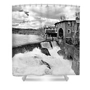Quechee's Thaw Shower Curtain