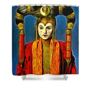 Queen Amidala Senate Costume Shower Curtain