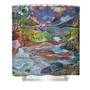 Queen City Dreaming Shower Curtain