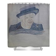 Queen Elizabeth Shower Curtain