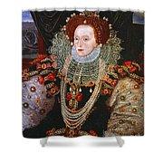 Queen Elizabeth I, C1588 Shower Curtain