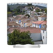Queen Isabella's Castle Portugal Shower Curtain