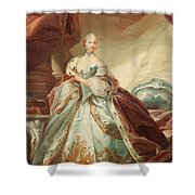 Queen Juliane Marie Of Denmark Shower Curtain
