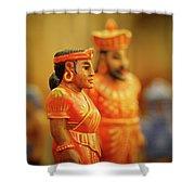 Queen  King Shower Curtain