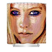 Queen Lavigne Shower Curtain