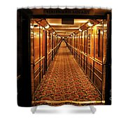 Queen Mary Hallway Shower Curtain