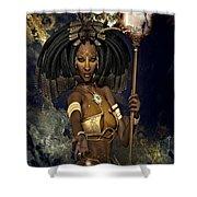 Queen Negasi Shower Curtain