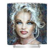 Queen Of Glamour Bright Shower Curtain