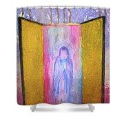 Queen Of Heaven Shower Curtain