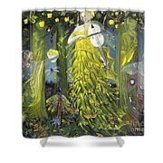 Queen Of Quinces Shower Curtain