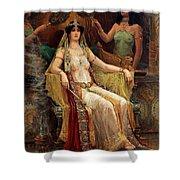 Queen Of Sheba Shower Curtain