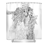 Queen Of The Afternoon Shower Curtain