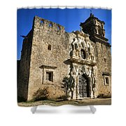 Queen Of The Missions - San Jose Shower Curtain